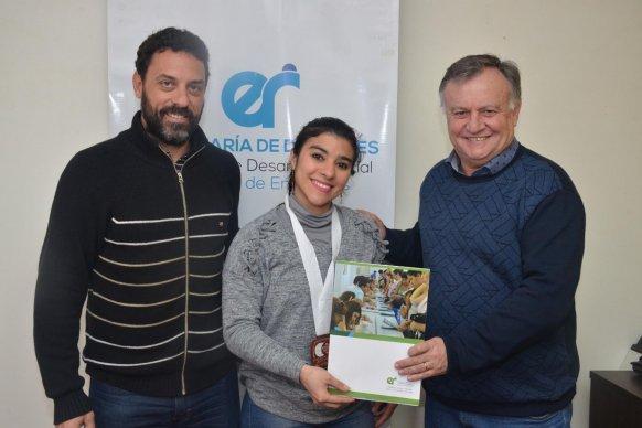 El gobierno provincial apoya a los atletas entrerrianos