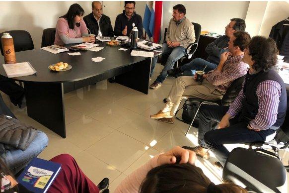 Ambiente conformó una mesa técnica de trabajo con el Colegio de Ingenieros de Entre Ríos