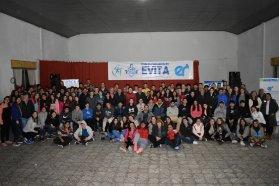 Más de 200 jugadores, entrenadores y dirigentes compartieron los Juegos Evita en Rosario del Tala