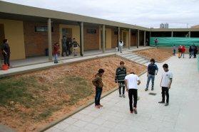 La provincia continúa la evaluación del estado de los servicios en las escuelas