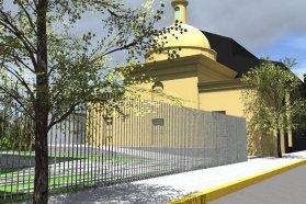 El proyecto de restauración de la histórica Capilla San Miguel se presentó en Italia en un congreso internacional