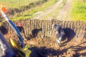 Se trabaja en la conservación de caminos del departamento Uruguay
