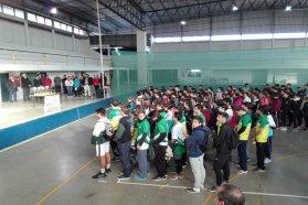 Más de 1.000 chicos participaron del Interescolar de voley