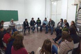 Analizan mejoras para conexiones a establecimientos educativos rurales de Gualeguay