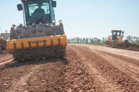 Se realizan trabajos para el mejoramiento de rutas en el departamento Gualeguaychú