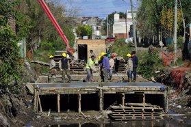 La obra de Defensa Norte de Concepción del Uruguay se detuvo por la situación macroeconómica