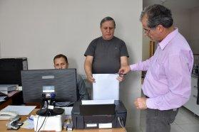 Se abrieron los sobres para la obra de reparación y refacción de los techos de la Dirección Provincial de Personal