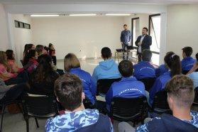 Estudiantes participaron de un taller de formación en leguajes artísticos