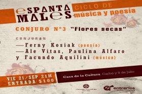 Continúa el ciclo Espantamales con música y poesía en la Casa de la Cultura