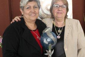 Claudia Terra recibió el premio Embajadores de la Italianidad