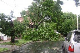 El gobierno provincial se puso a disposición del municipio de Diamante por los daños del temporal