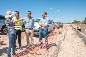 Avanzan los trabajos de la pavimentación entre Oro Verde y Tezanos Pinto