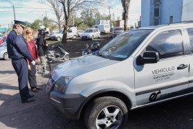 Se entregaron para el servicio público los primeros vehículos recuperados de Narcomenudeo
