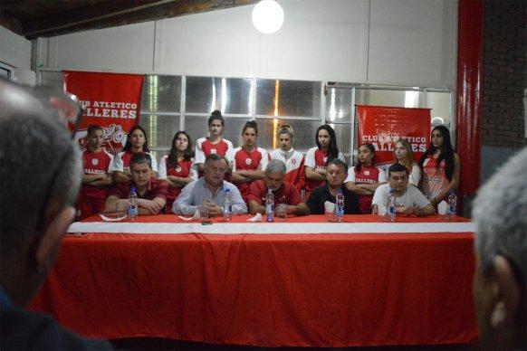 El gobierno provincial acompañó la presentación de Talleres rumbo al Torneo Federal de Básquet Femenino