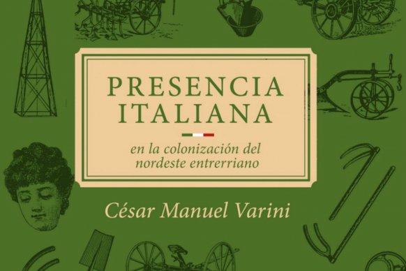 Presentan un libro sobre la presencia italiana en la provincia