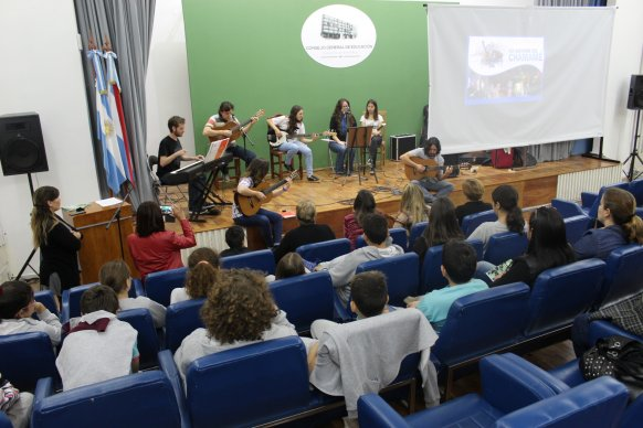 Se conmemoró el Día Nacional del Chamamé en el Consejo de Educación