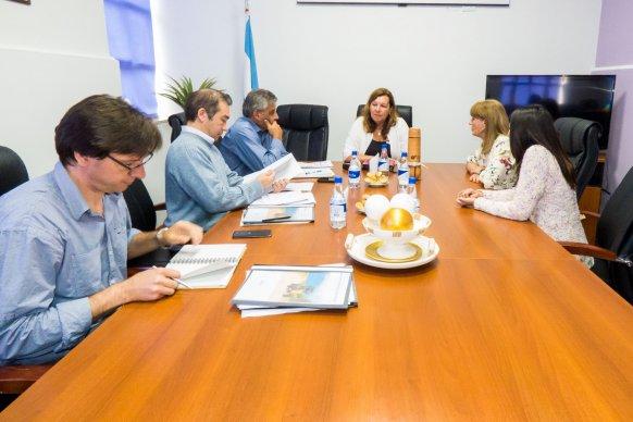 Analizaron el proyecto para pavimentar el acceso oeste a Carbó en el departamento Gualeguaychú