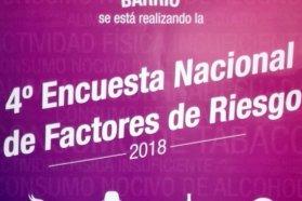 Inicia la 4º Encuesta Nacional de Factores de Riesgo (ENFR 2018) en Entre Ríos