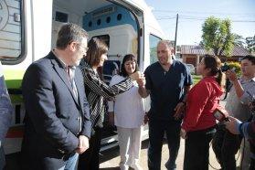 El hospital de San Salvador recibió una ambulancia 0 kilómetro