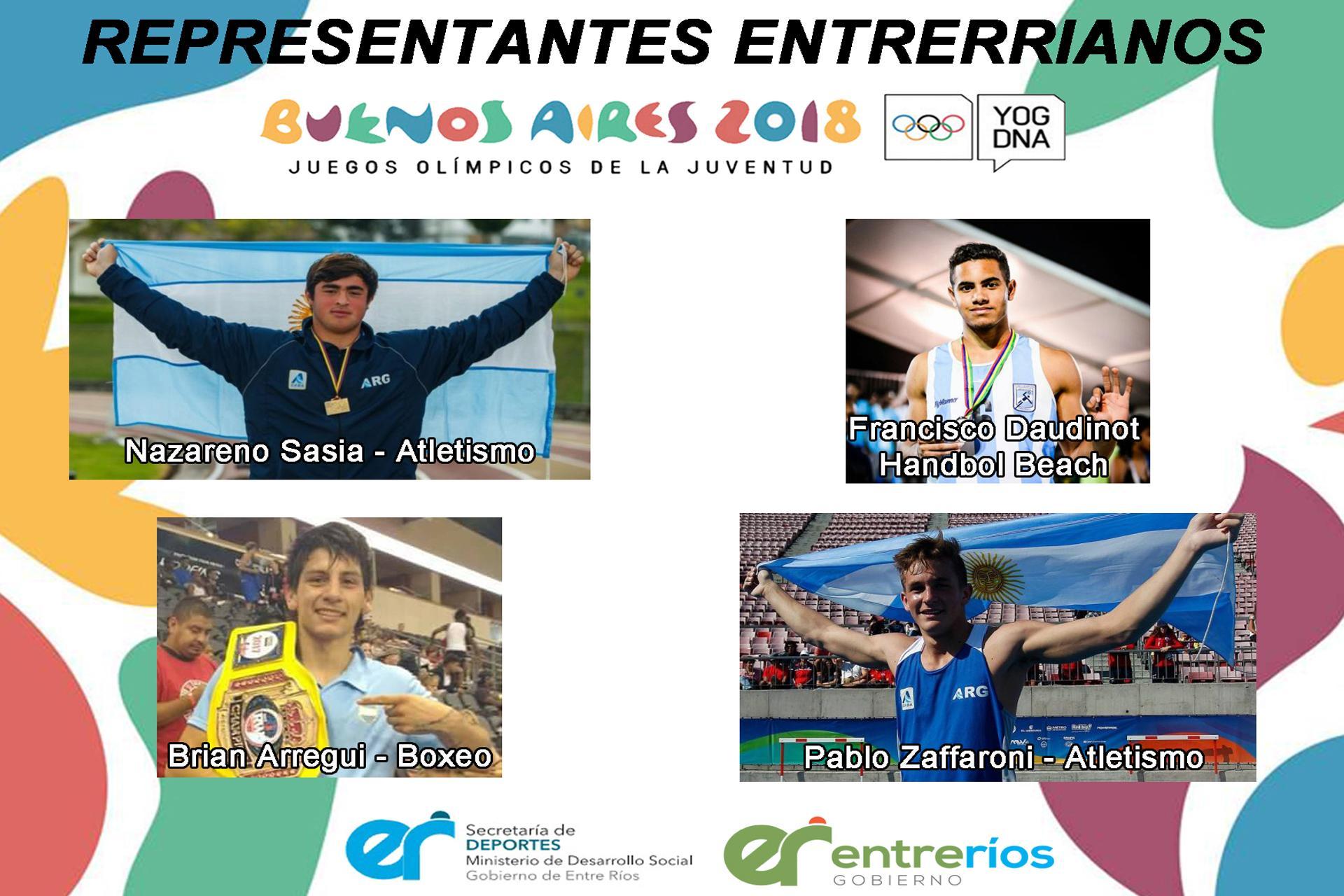Cuatro Entrerrianos Compiten En Los Juegos Olimpicos De La Juventud