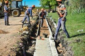 A buen ritmo ejecutan obras de Cafesg en el departamento Federal