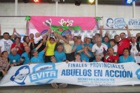 Los Adultos Mayores definen en María Grande la etapa provincial de los Juegos Evita