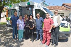 El hospital San Blas de Nogoyá recibió una ambulancia