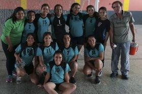 Más de 300 estudiantes participaron de las finales de handball femenino