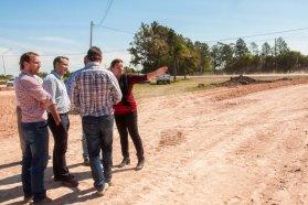 Continúa la construcción del acceso norte a Urdinarrain