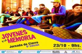 Jornada de cierre de la 9º edición del programa Jóvenes x la Memoria