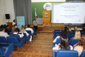 Estudiantes del profesorado de Educación Primaria se capacitaron en educación domiciliaria hospitalaria