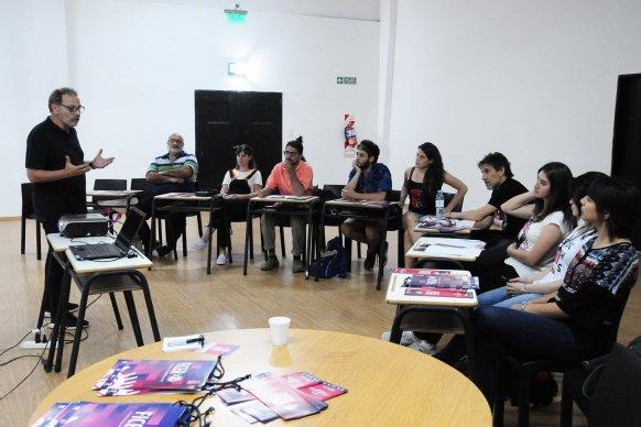Actores y realizadores audiovisuales se forman en dirección actoral para cine