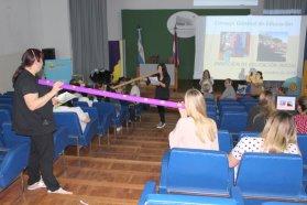 Estudiantes de nivel superior participaron de una capacitación sobre la modalidad domiciliaria hospitalaria