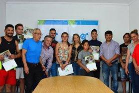 El gobierno entregó aportes a deportistas entrerrianos
