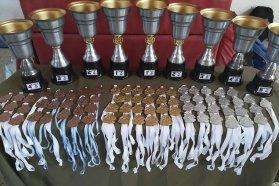 Más de 500 estudiantes de la provincia participaron de los interescolares de vóley