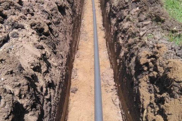 La Cafesg inició la obra de red de agua en Colonia San Pedro