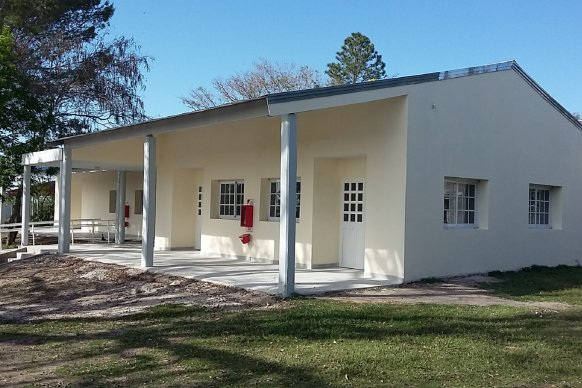 Está pronta a finalizarse la escuela Nº 4 José Manuel Estrada del Distrito Chañar