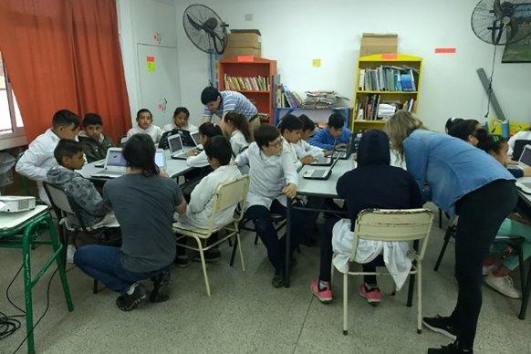 Más de 150 alumnos de Chajarí y Federación participaron de los festivalitos TIC