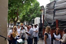 La provincia entregó mobiliario a 57 escuelas rurales del departamento La Paz