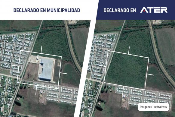 ATER detectó e incorporó 50.000 metros cuadrados de construcciones no declaradas