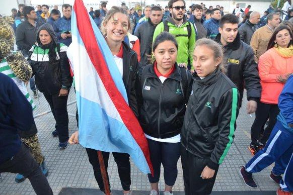 Macadam y Coppola portaron la bandera de Entre Ríos en la final nacional de los Juegos Evita