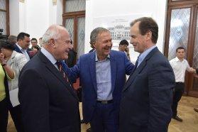 Bordet valoró junto a Lifschitz y Schiaretti las políticas públicas que trascienden las gestiones