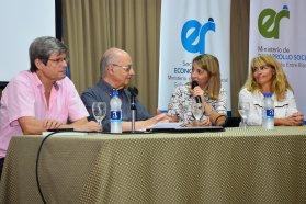 Se realizó una charla sobre Economía Social con José Luis Coraggio