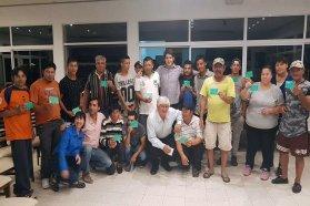 Pescadores artesanales de Brugo recibieron el carnet que los habilita a pescar en el río Paraná