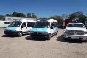 Por cumplir con las metas sanitarias, Entre Ríos recibió dos minibuses y una camioneta