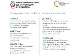 Se realizará la Semana Internacional del Emprendedor en Entre Ríos