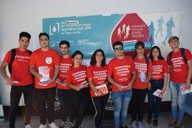 Hubo una colecta externa en Paraná por el Día Nacional del Donante Voluntario de Sangre