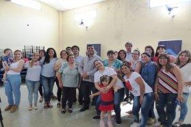 La provincia sorteó viviendas para docentes en Viale