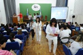 El gobierno recibió a estudiantes de la escuela provincia de Entre Ríos de Tierra del Fuego