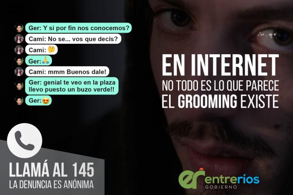 Entre Ríos continúa las acciones de sensibilización y prevención de Grooming